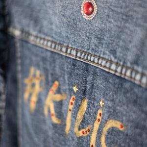personaliza tu chaqueta tejana